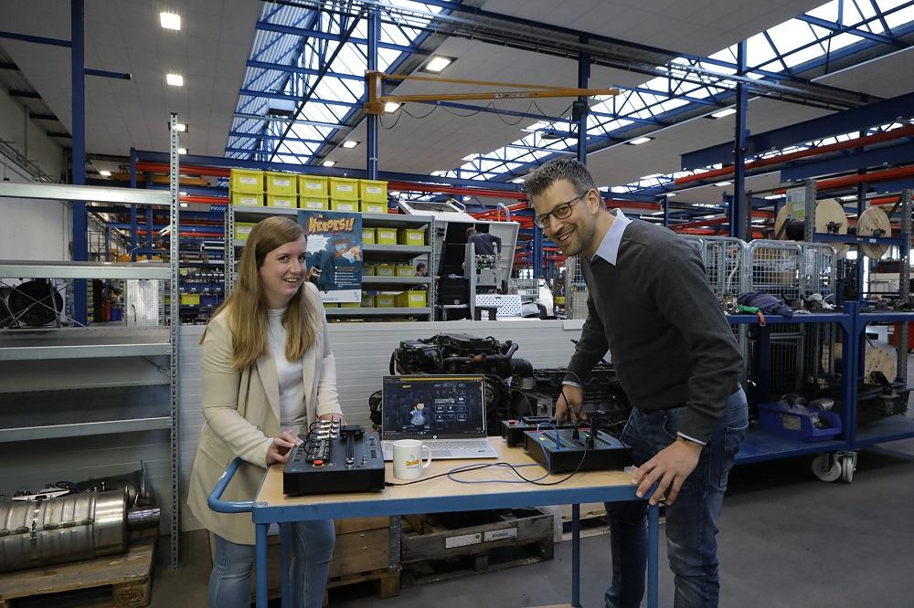 Jessica van Dam en Hans van Zelderen